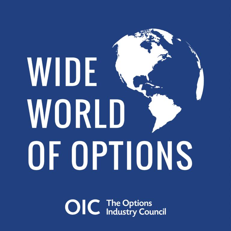 Wide World of Options 71:  Technical Analysis